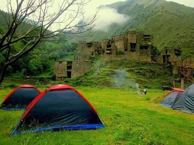 Shatili, Kaukasus
